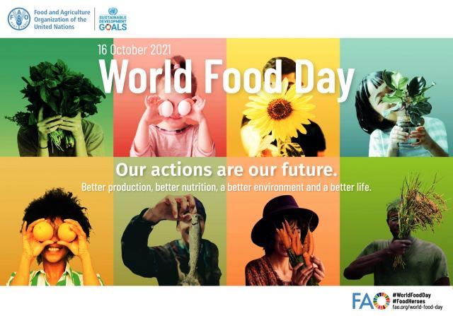 Sứ điệp của ĐTC Phanxicô cho Ngày Lương thực Thế giới 2021