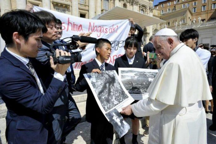 Tại Nhật, Đức Phanxicô có thể sẽ không đồng ý với chính phủ về chương trình hạt nhân và hòa bình