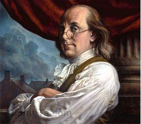 Tại sao tờ 100 USD lại in hình chân dung Benjamin Franklin?