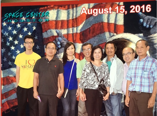 Thăm trung tâm NASA Johnson Space Center ở Houston Texas  15-8-2016