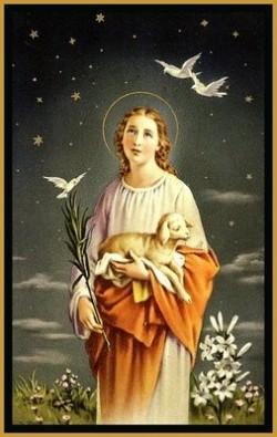 Thánh Anê Trinh nữ Tử đạo