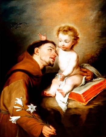 Thánh Antôn Padua Linh mục và tiến sĩ Hội Thánh (1195-1231).
