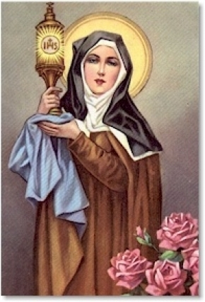 Thánh Clara (1194-1253)