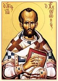 Thánh Gioan Chrysostom.