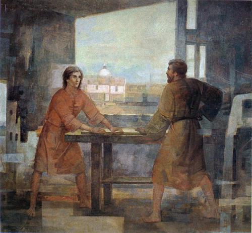 Thánh Giuse người cha lao động