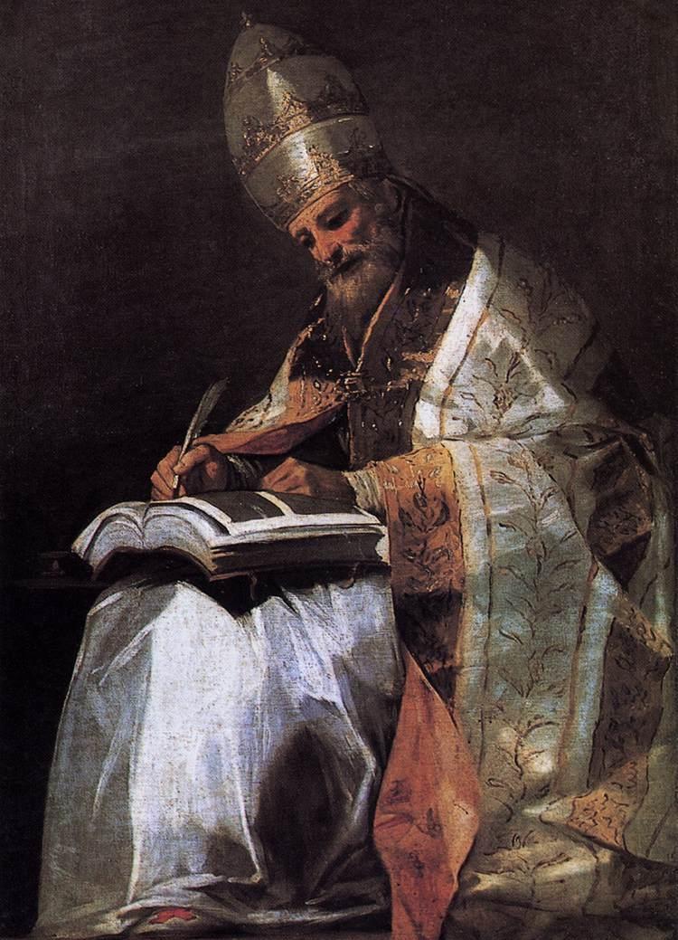 Thánh GRÊGÔRIÔ CẢ Giáo Hoàng, Tiến Sĩ Hội Thánh (540-604)