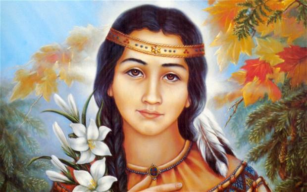 Thánh Kateri Tekakwitha (1656-1680)