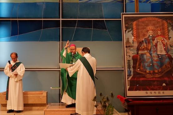 Thánh lễ cầu nguyện cho giám mục Trung Quốc bị đưa đi mất tích
