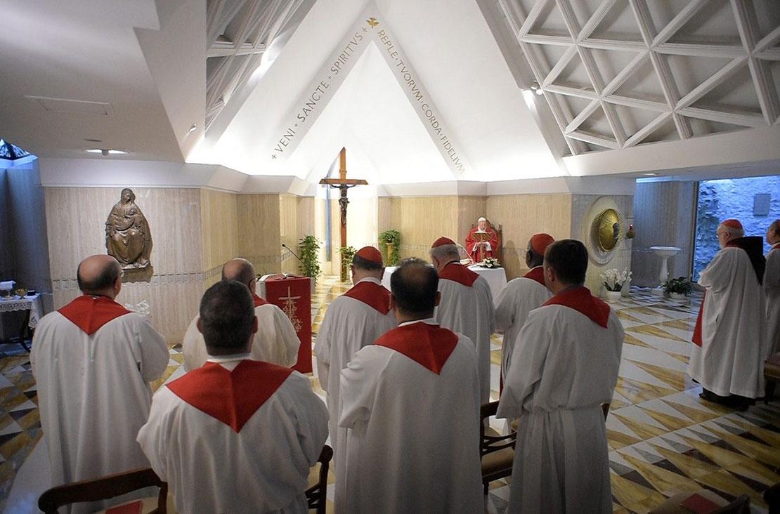 Thánh lễ tại Santa Marta 11/6: Chúa Thánh Thần là nhân vật chính trong việc truyền giáo