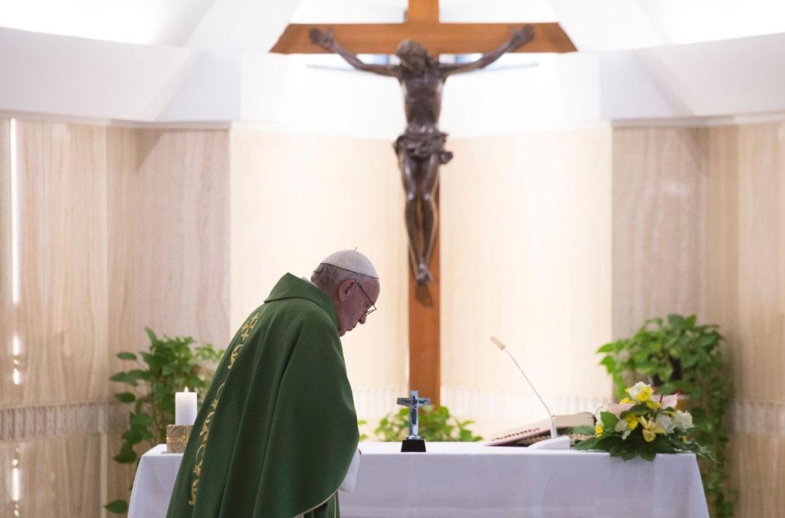 Thánh lễ tại Santa Marta 14/6: Chúa Giêsu ao ước sự hòa giải