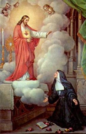 Thánh Margaret Mary Alacoque (1647-1690)