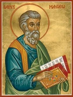 Thánh Matthêu - Tông đồ, Thánh sử