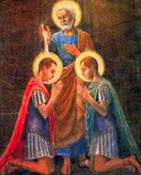Thánh Nereus và Thánh Achilleus