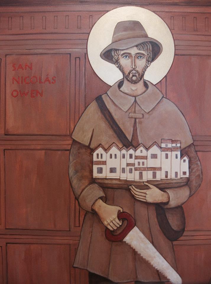 Thánh Nicôla Owen (c 1606)