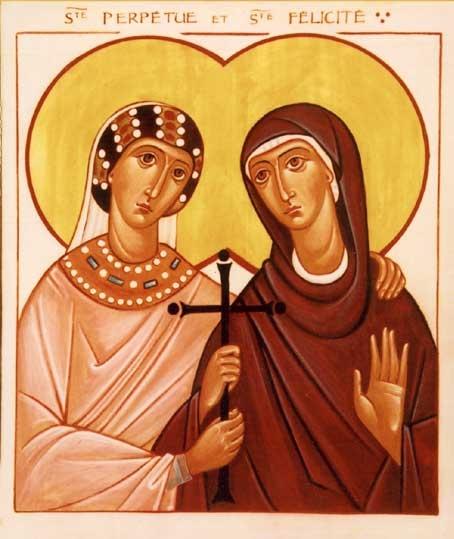 Thánh Perpêtua và Phêlixita  Tử đạo (thế kỷ III)