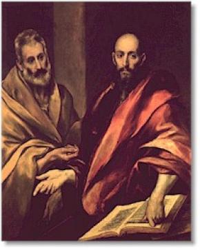 Thánh Phêrô và Phaolô  (c. 64?)