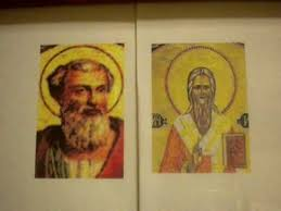 Thánh Pontian và Thánh Hippolytus.