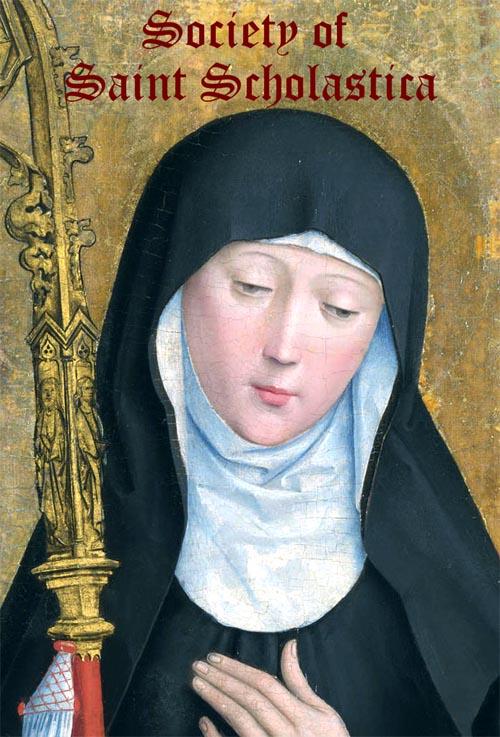 Thánh Scholastica - Trinh Nữ