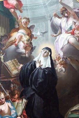 Thánh Scholastica, trinh nữ