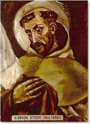 Thánh Simon Stock (1165 - 1265)