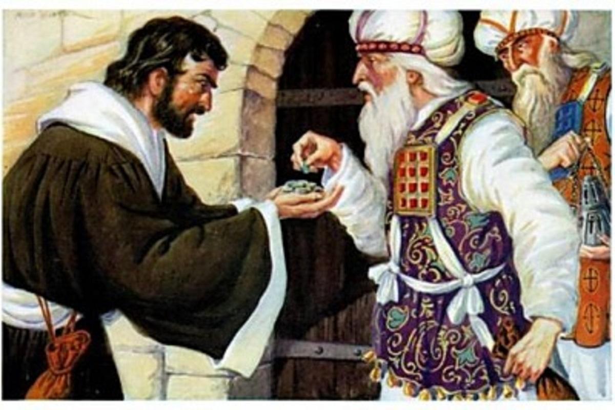 Tính hiện sinh trong vụ 'bán chúa' của giu-đa?
