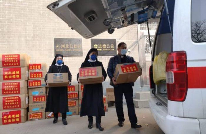"""Tổ chức từ thiện Jinde  kêu cứu """"Chúng tôi thiếu vật dụng y tế, xin giúp chúng tôi ."""""""