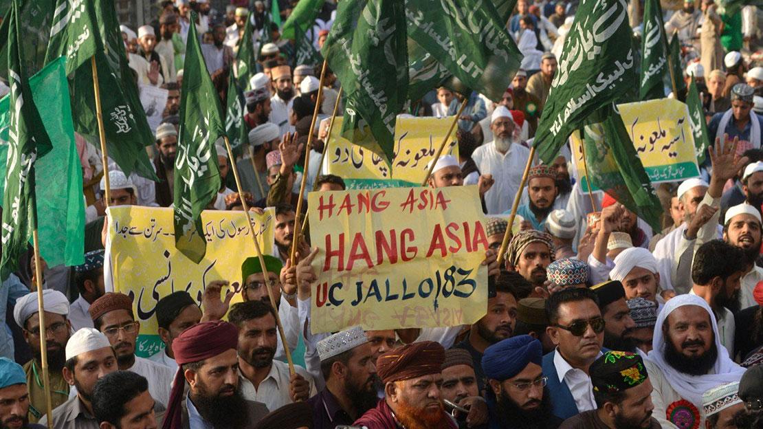 Tối Cao Pháp Viện Pakistan tha bổng Asia Bibi, Hồi Giáo cực đoan lập tức nổi loạn