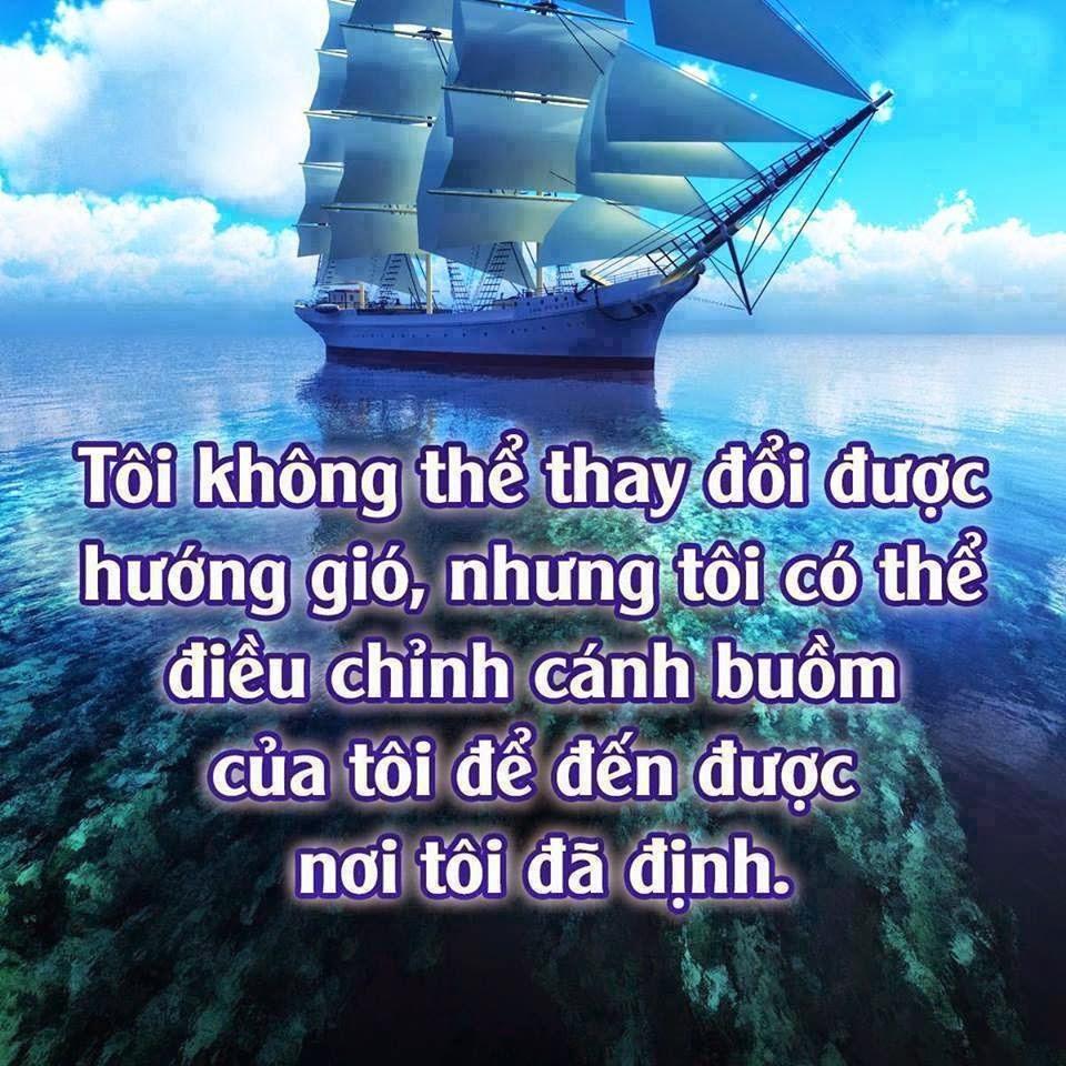 Tôi không thể thay đổi được hướng gió...