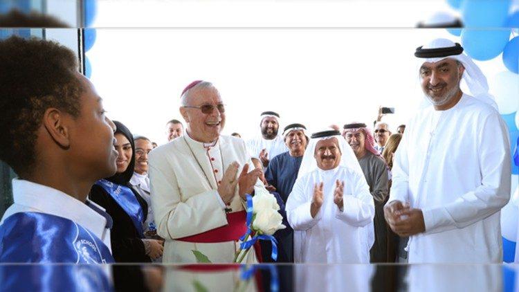 """Trường Trung học Đức Maria ở Ras Al Khaimah: Một nơi của """"lòng khoan dung và tôn trọng"""""""