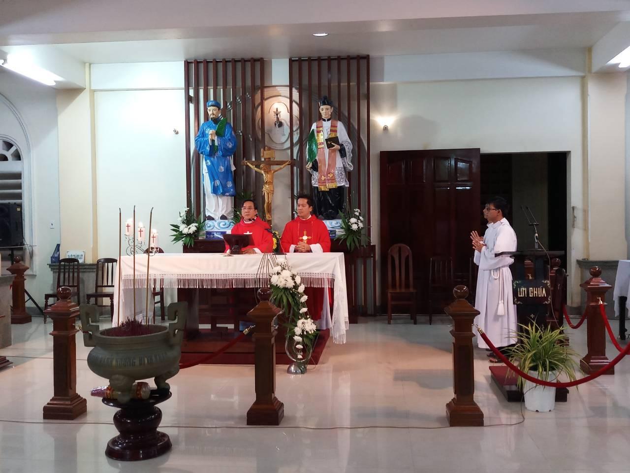 TTHH Đình Khao : Thánh Lễ mừng kính các Thánh Tử Đạo Triều Tiên