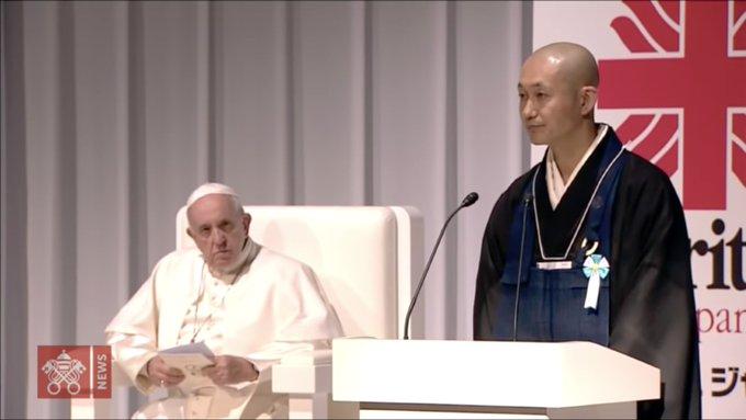 Tu sĩ Phật giáo Tokuun Tanaka, người sống sót sau thảm họa hạt nhân ở  Fukushima