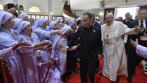 Ðức Thánh Cha gặp gỡ các linh mục,  tu sĩ, chủng sinh và giáo lý viên Thái Lan