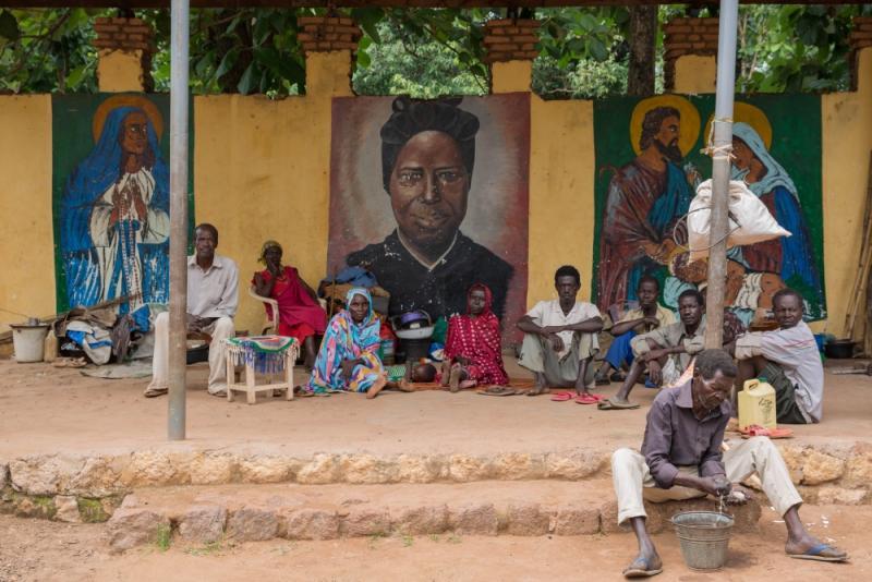 10,000 người trú ẩn tại Vương cung Thánh đường ở Nam Sudan