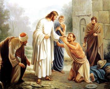 Xin Chúa chữa mù cho ta