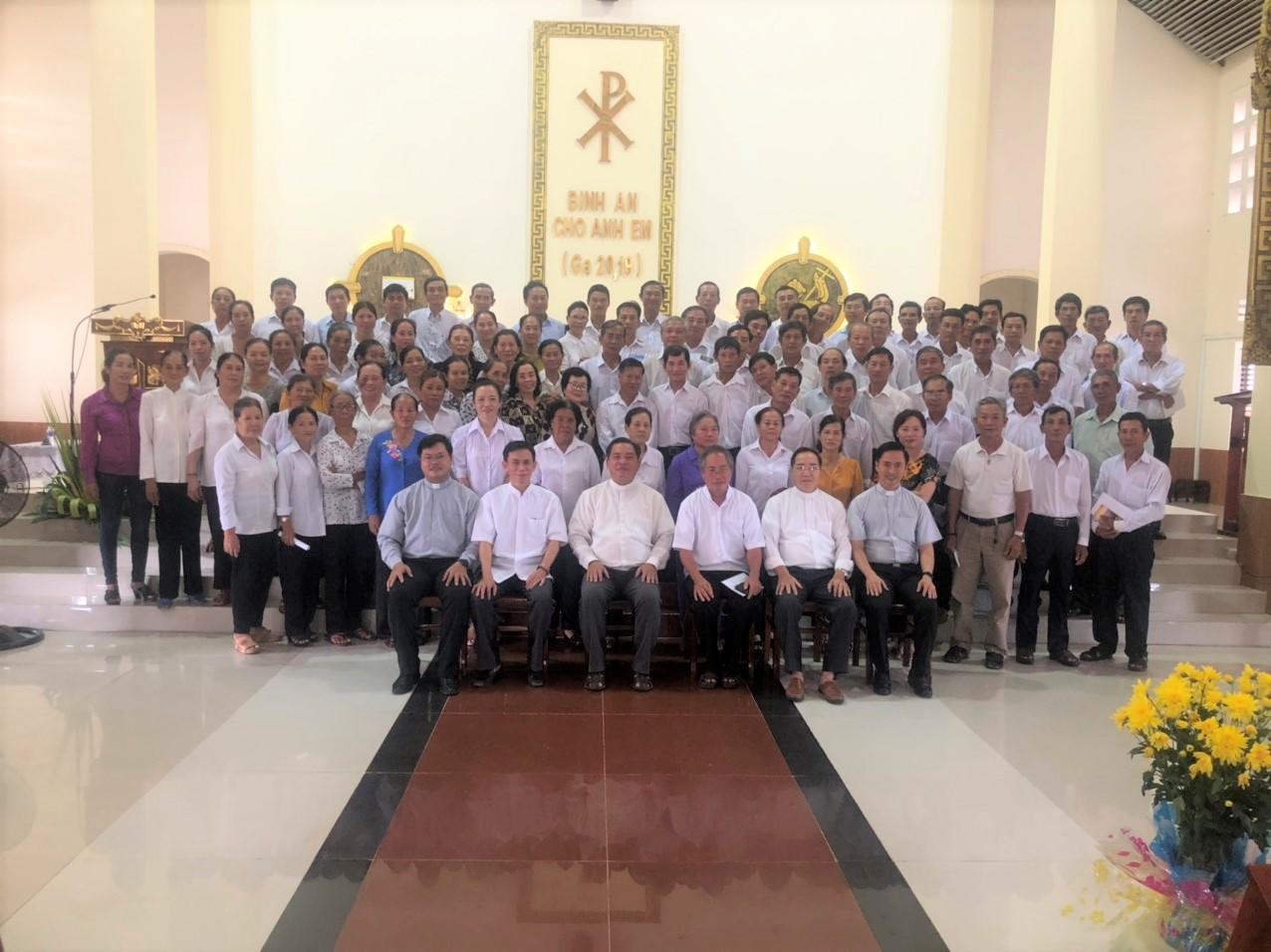 Nhà thờ Cái Đôi: Ngày họp mặt Quới chức trong Hạt